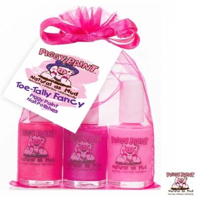 Piggy Paint 天然無毒兒童專用指甲油禮盒組-花漾女孩