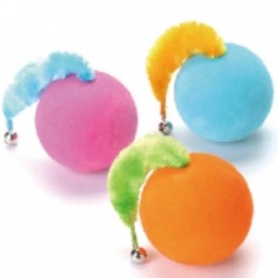 Cattyman 貓用不倒翁鈴鐺玩具球-單入《隨機出色》