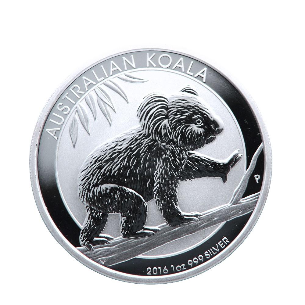澳洲無尾熊銀幣-2016無尾熊銀幣(1盎司)