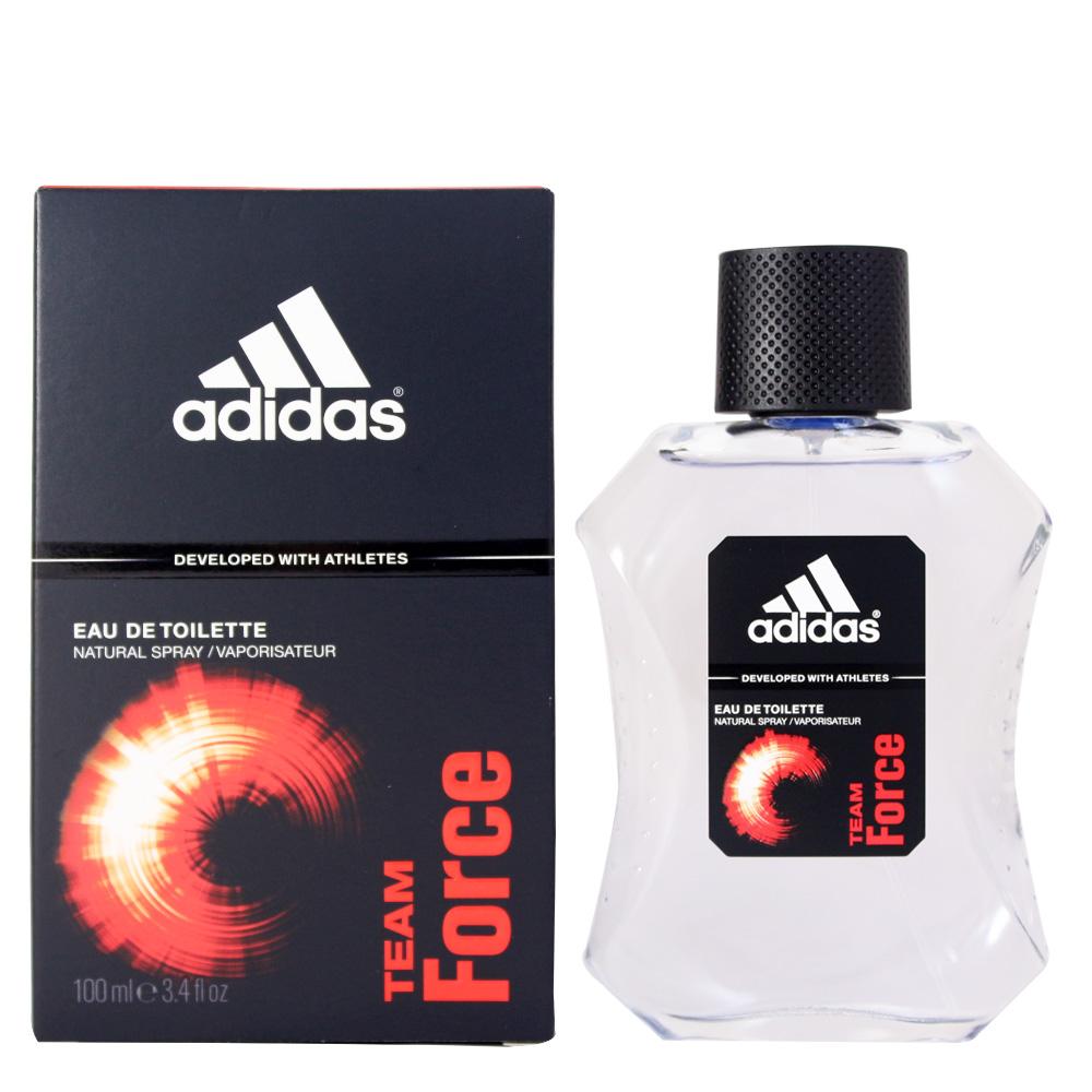 Adidas Team Force愛迪達典藏魅力運動男性淡香水100ml