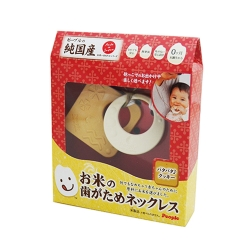 日本People-米的項鍊咬舔玩具(餅乾造型)(0m+)