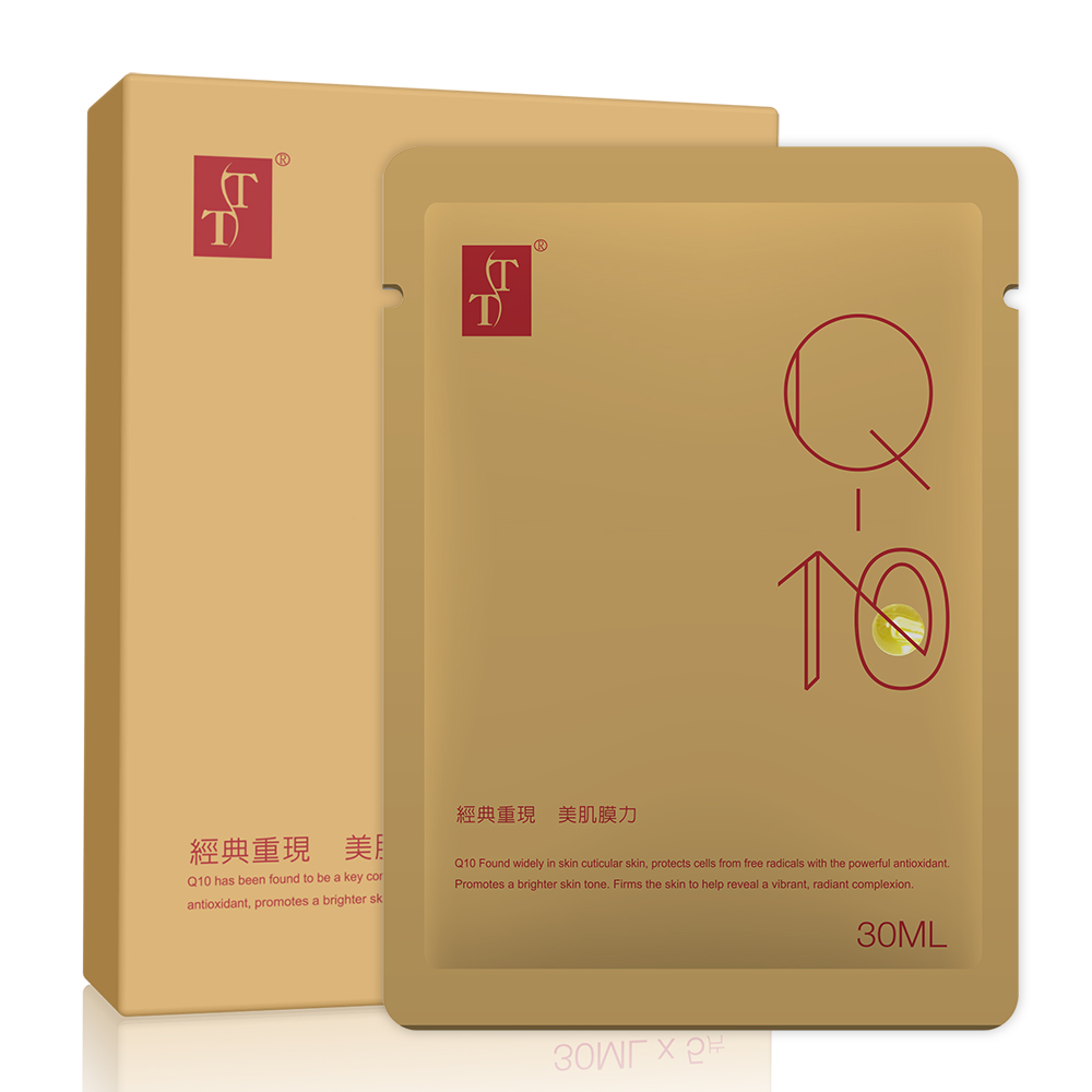 TT KOTEMEIN Q10彈力緊緻面膜(5片)