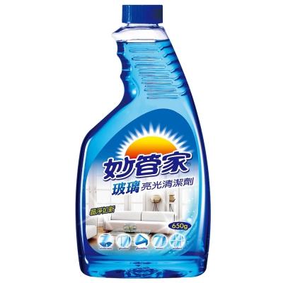 妙管家-玻璃亮光清潔劑650g