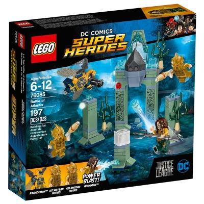 LEGO樂高 超級英雄系列 76085 亞特蘭提斯之戰