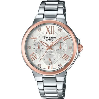 SHEEN  優雅風采時尚錶(SHE-3511SG-7A)雙色/35.2mm