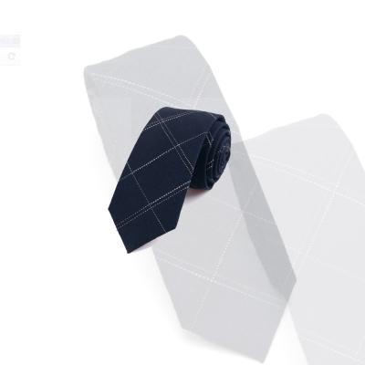 拉福   領帶領帶棉質領帶6cm領帶拉鍊領帶
