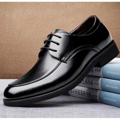 美國熊 頭層牛皮 超纖 男士商務 婚禮皮鞋 業務鞋