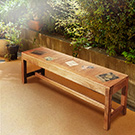 ALMI-DOCKER WORLD - BENCH 140 長板椅(寬140cm)-免組