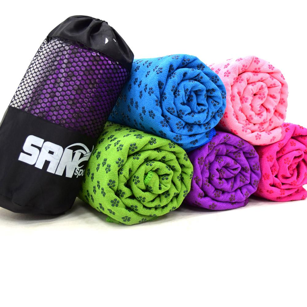 瑜珈鋪巾-超細纖維止滑顆粒-加寬型80CM product image 1