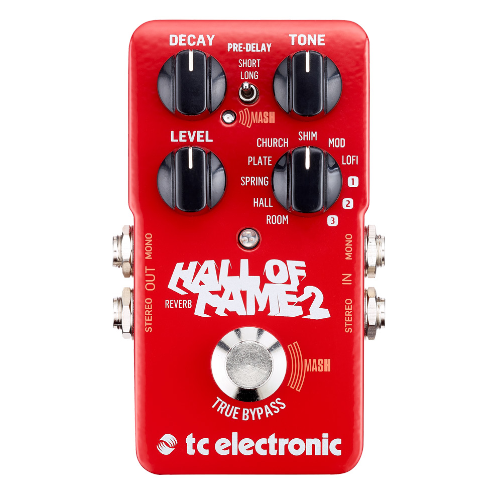 tc electronic Hall of Fame Reverb 2 效果器