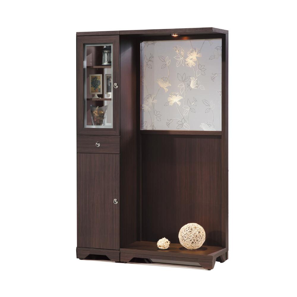 品家居  瑪斯4尺多功能玄關櫃/隔間櫃(二色)-120.3x41.5x191cm免組
