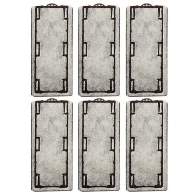 《Mr.Aqua》水族先生外掛式薄型過濾碳片 6pcs(300、460、600、750通用