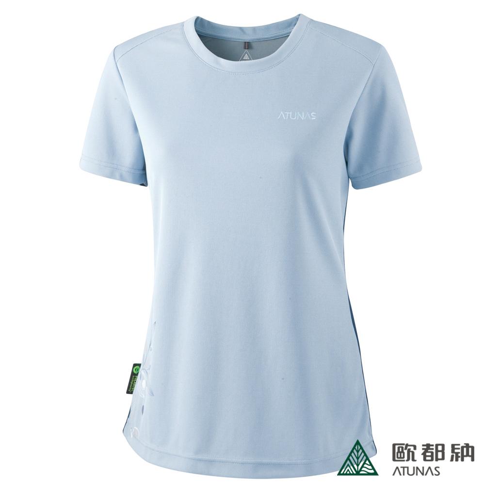 【歐都納】A-T1201W  POLARTEC 女款短袖T恤
