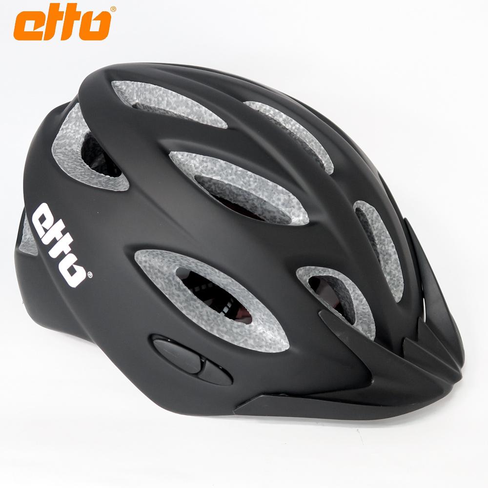 【ETTO】挪威 Bernina 自行車兒童安全帽-消光黑