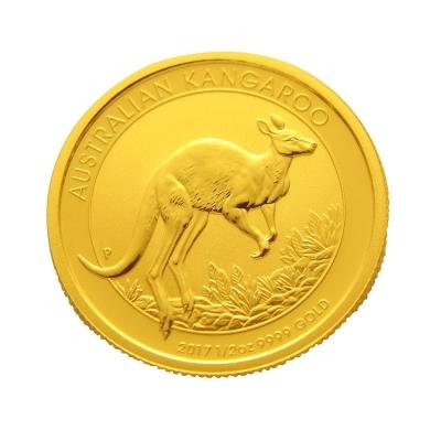 2017年澳洲袋鼠金幣-1/2盎司(OZ)