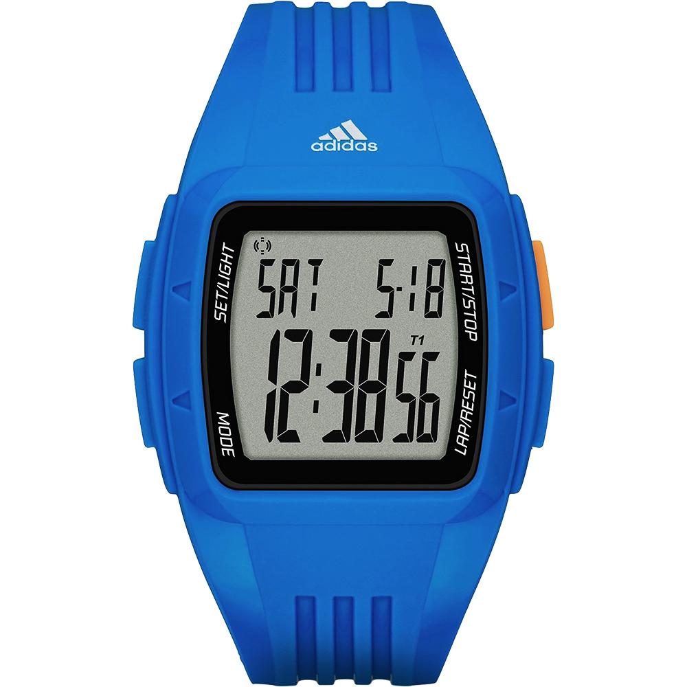 adidas運動休閒電子腕錶-藍42mm