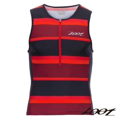 ZOOT 專業級半拉式鐵人上衣(男) Z1606025(城市紅)