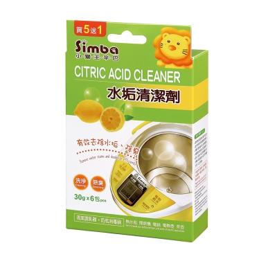 【任選】小獅王辛巴 水垢清潔劑(30gx6包入)