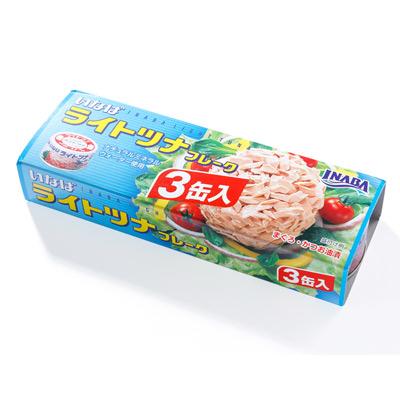 稻葉 鮪魚鰹魚罐(80gx3入)