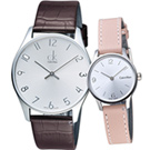 Calvin Klein 完美愛情典時尚對錶(K4D211G6+K7V231Z6)