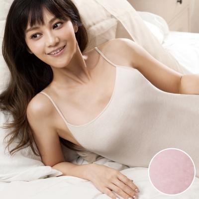 華歌爾 精梳棉 系列 M-LL 細肩帶蘭姿(柔粉紅)