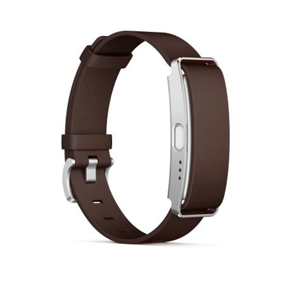 SONY SmartBand SWR10 智慧手環 棕色皮革