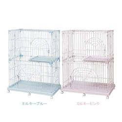 日本IRIS《雙層》可移動式貓籠 PEC-902