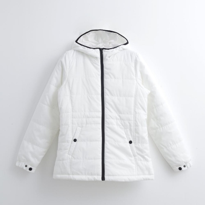 Hang Ten - 女裝 - ThermoContro 純色夾棉外套 - 白