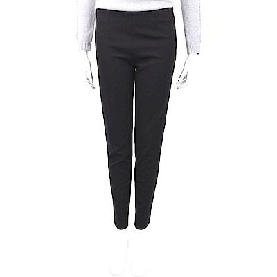 MOSCHINO 黑色窄管修身西裝褲