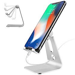 ibase 可調角度 鋁合金桌上型手機支架 平板支架 手機座