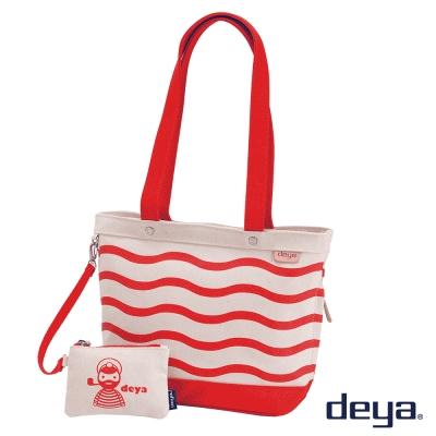 deya 海洋水手 MIT帆布托特包 (小)  水手紅