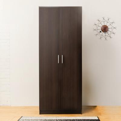 Boden-亞諾2.3尺兩門衣櫃(胡桃色)-70x51x180cm