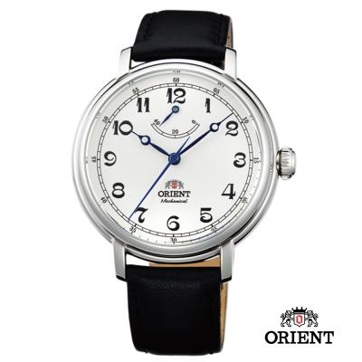 ORIENT 東方錶 動力儲存系列 復古手動上鍊機械錶-米白/40mm