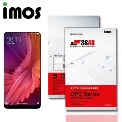 iMos 小米 小米MIX 2 3SAS 疏油疏水 螢幕保護貼