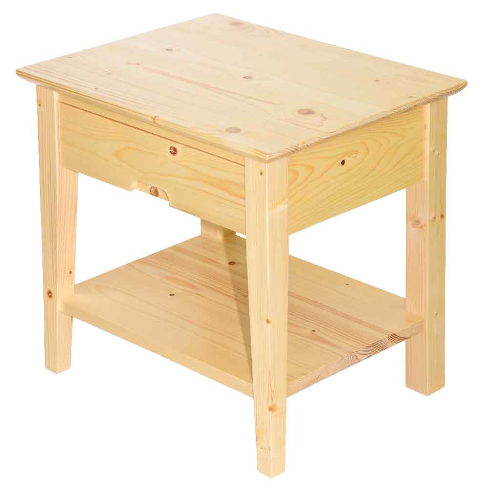 雲杉一抽收納櫃/床頭櫃/茶几/邊桌