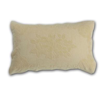 HOYA-active-超柔細純棉壓紋枕巾-2入-10-米