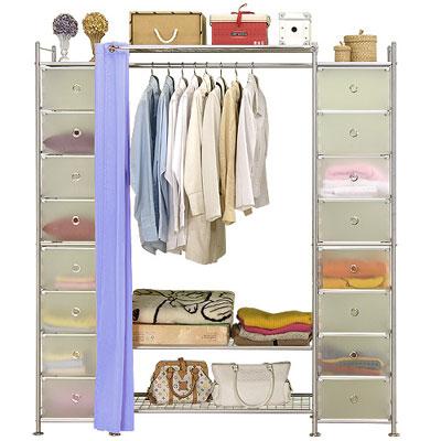 巴塞隆納-W 3 + 2 D型 90 公分收納/衣櫥櫃