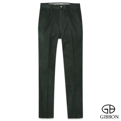 GIBBON 天絲棉透氣斜紋平口褲‧暗綠30~42