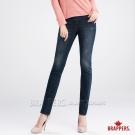 BRAPPERS 女款 新美腳Royal系列-彈性窄管褲-深藍