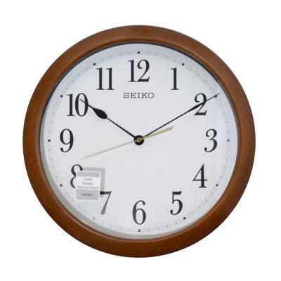 SEIKO 精工 獨特靜音時鐘掛鐘(QXA598B)-41cm