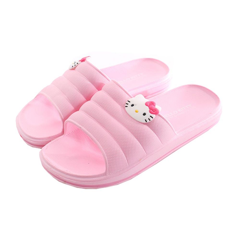 Hello kitty休閒拖鞋 粉 sk0275 魔法Baby