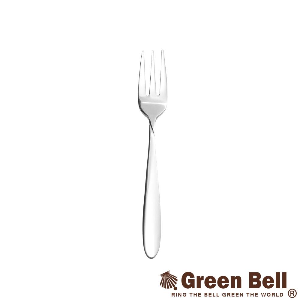 GREEN BELL綠貝 304不鏽鋼餐具小餐叉