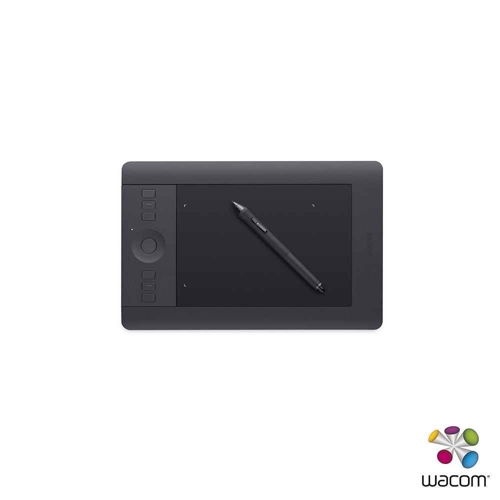 Wacom Intous Pro 專業板Touch Small 繪圖板(黑)