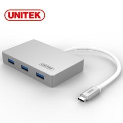 UNITEK 優越者Type-C轉USB3.0HUB(OTG)
