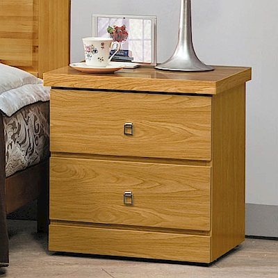 H&D 白楓木床頭櫃 (寬48.5X深39.4X高48.5cm)