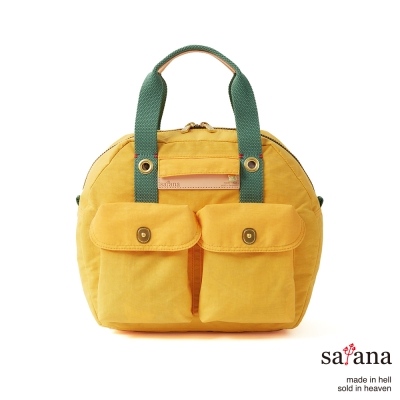 satana - 旅行後背包/保齡球包 - 琥珀黃