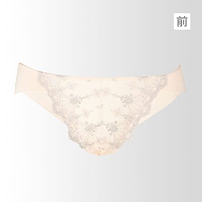 蕾黛絲-雙背片靠過來 低腰內褲M-EL(柔美粉)