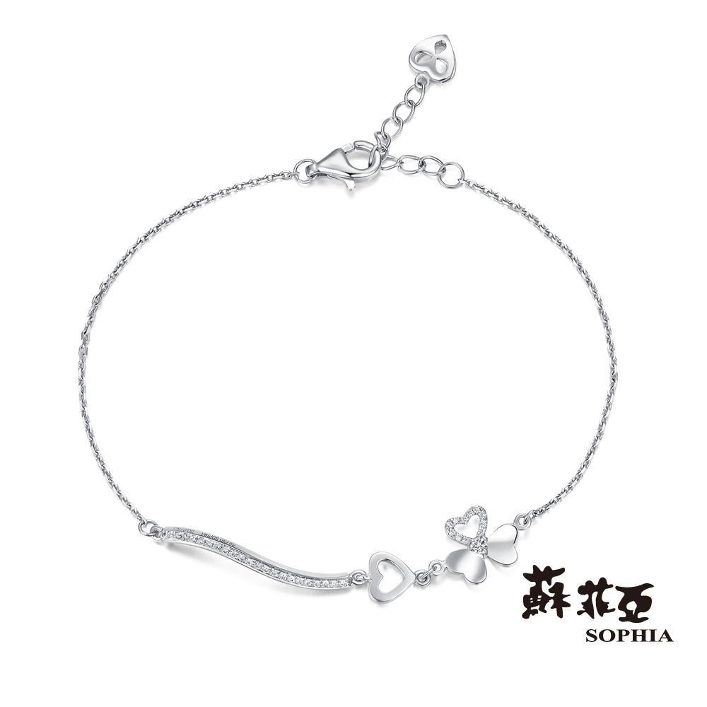 蘇菲亞SOPHIA 鑽鍊 - 幸運愛戀鑽石手鍊