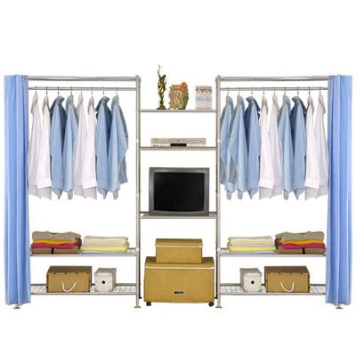 巴塞隆納-W3型90+60+90cm置物/衣櫥收納架