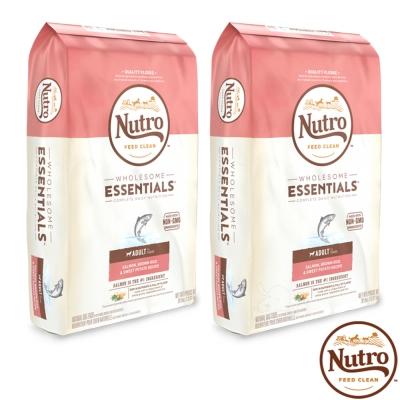 【Nutro 美士】全護營養 成犬(特級鮭魚+糙米+地瓜)5磅 X2包